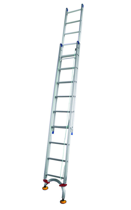 Indalex Pro Extension Ladder with Level Arc 130kg to 180kg