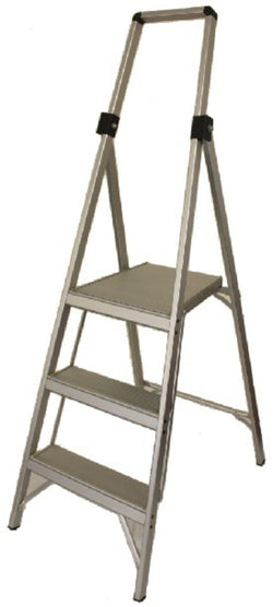 Indalex Trade Platform Step Ladder Slimline Trade 120kg