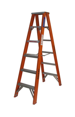 TRDSFD Range - Double Sided Step Ladder Fibreglass 120-150kg