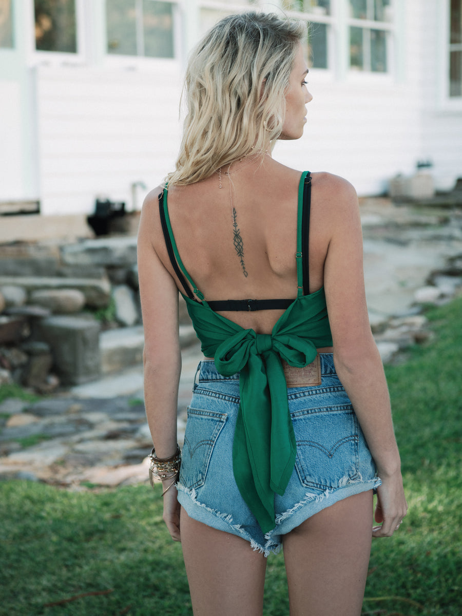 JADE TIE BACK TOP