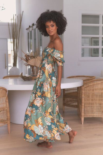 JAASE | ENCHANTED FOREST CLAUDETTE MAXI | Bohemian Love Runway