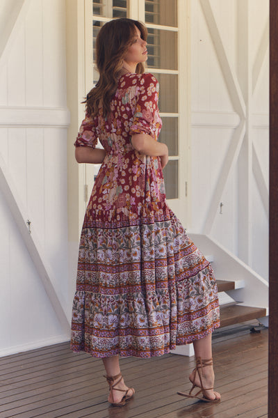 JAASE | FLOWER CHILD TESSA MAXI DRESS | Bohemian Love Runway