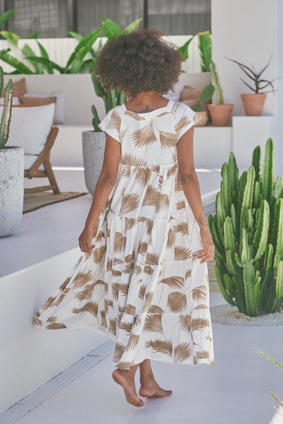 JAASE | JUICY MAXI DRESS PALM SPRINGS IVORY | Bohemian Love Runway