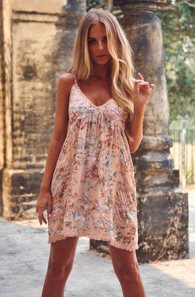Jaase | SUNSET MINI DRESS | Bohemian Love Runway