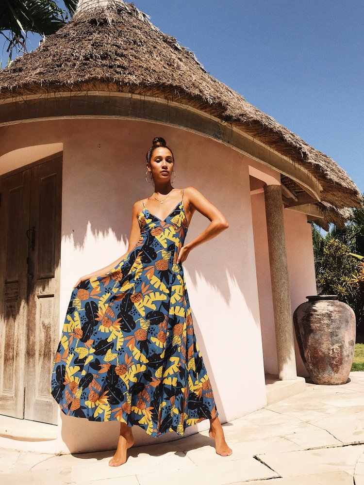 VERADO MAXI DRESS COCOBANA