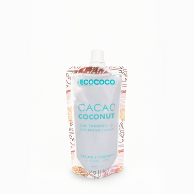 Eco Coco Cacao Coconut Sun Tanning Oil | Bohemian Love Runway