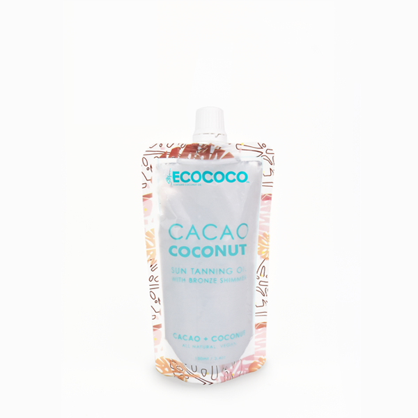 Cacao Coconut Sun Tanning Oil