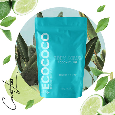 Eco Coco | LIME BODY SCRUB | Bohemian Love Runway