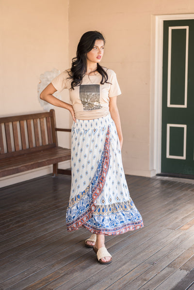 Sanctum The Label | BLOSSOM MAXI SKIRT | Bohemian Love Runway