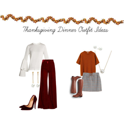 Thanksgiving 2017 outfit ideas with pearls