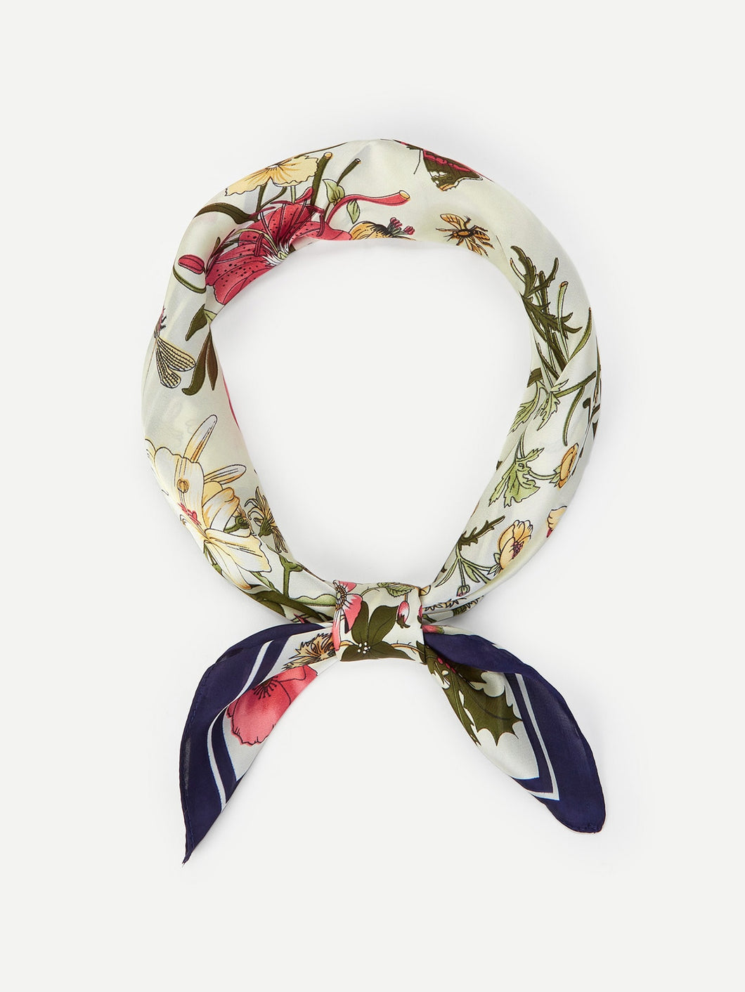 Flower Pattern Bandana