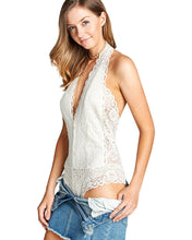 Sofia Lace Bodysuit - White