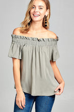 Sunny Off Shoulder Top