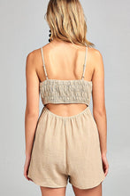Under the Sun Front Tie Romper