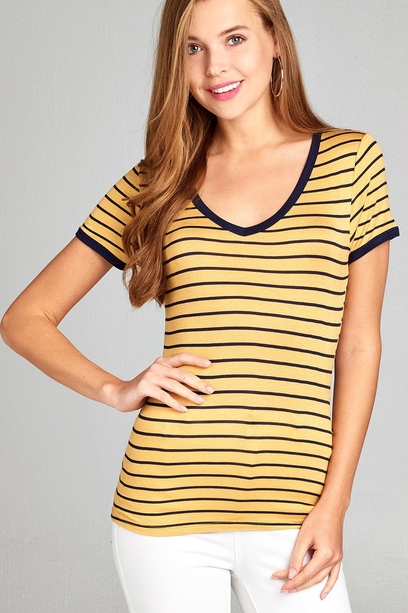 Savannah Striped Tee