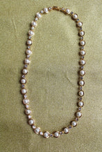 Cubic Zirconia and Pearls Necklace