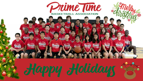 2019/2020 PTBA Winter Break Basketball Camp