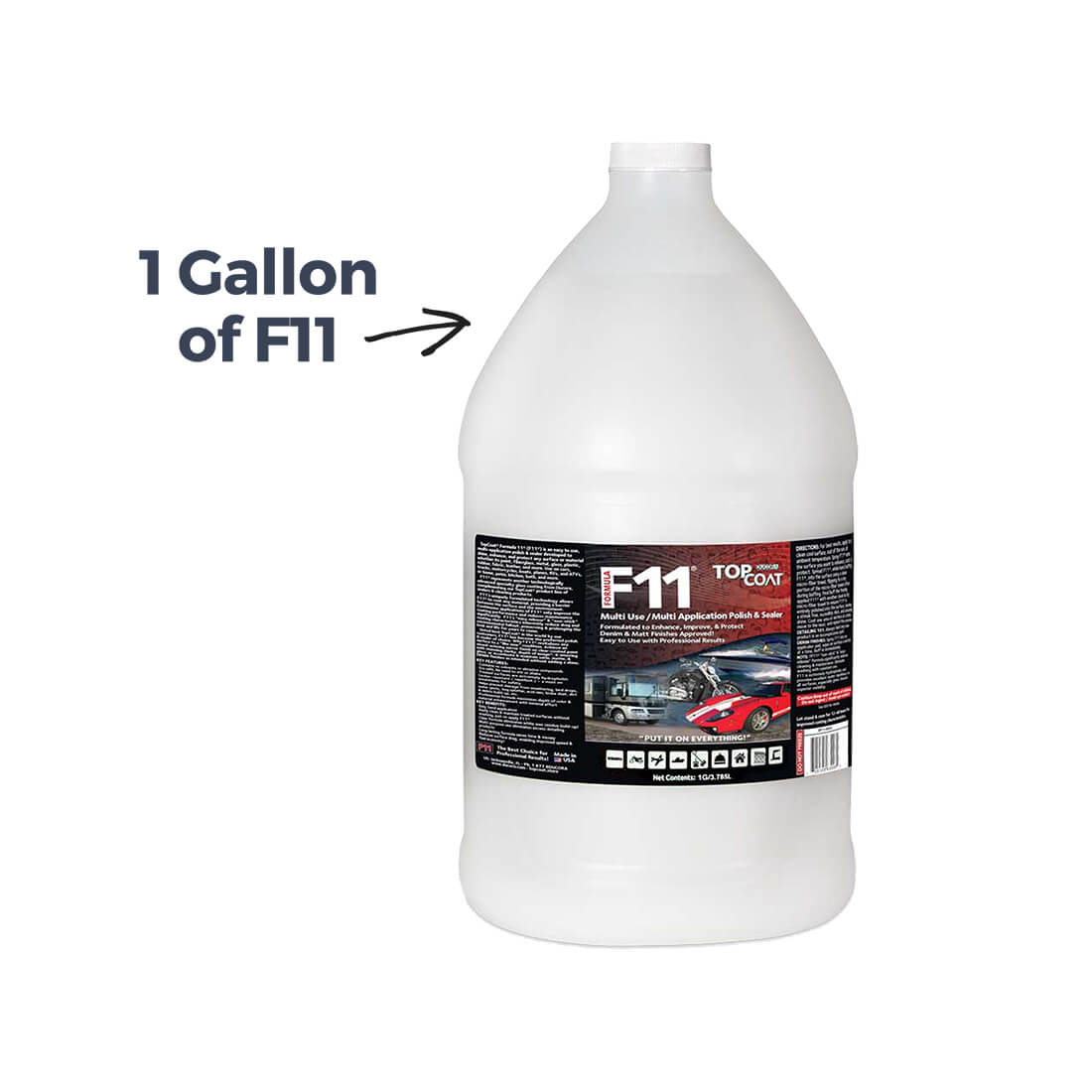 TopCoat® F11® Polish & Sealer - 1 Gallon/3.79L - Web Special