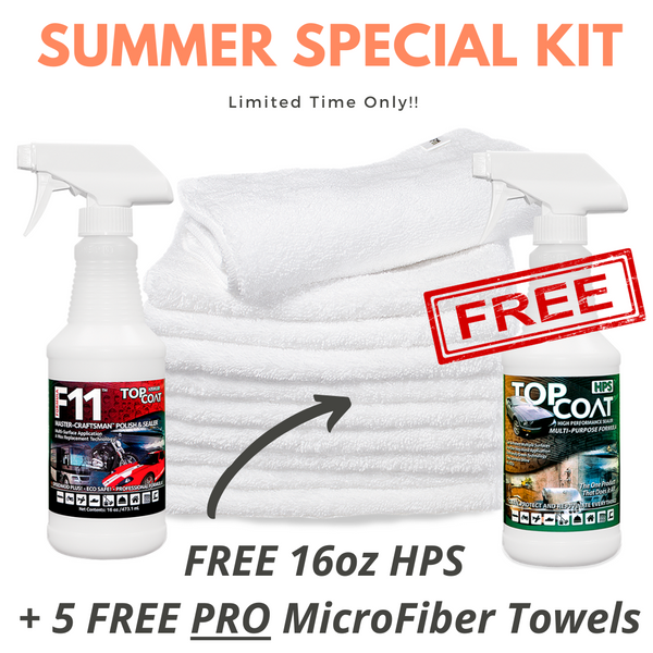 TopCoat® Summer Maintenance Kit