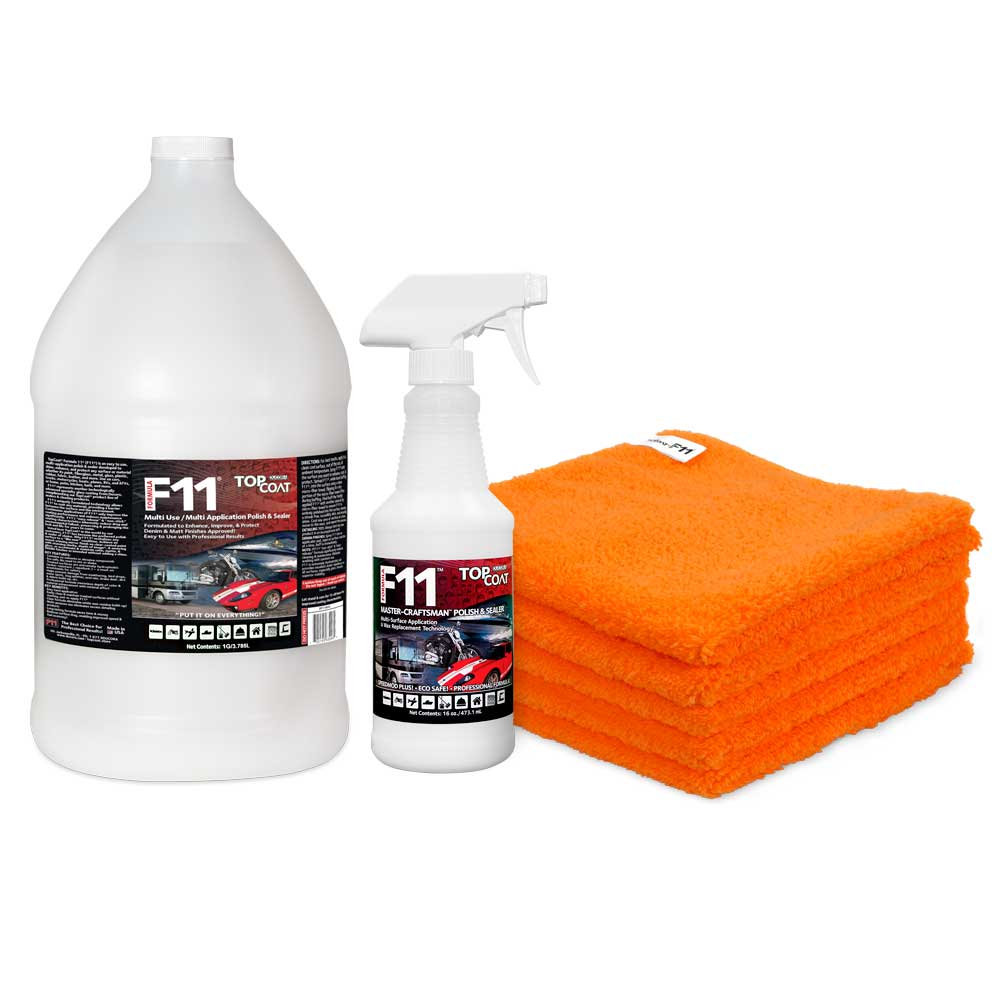TopCoat® F11® Polish & Sealer - 1 Gallon Kit Special