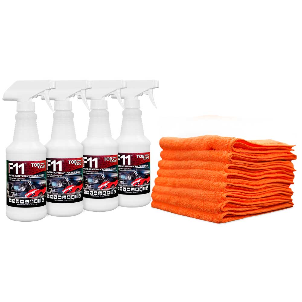 TopCoat® F11® Polish & Sealer - Quad Kit Special
