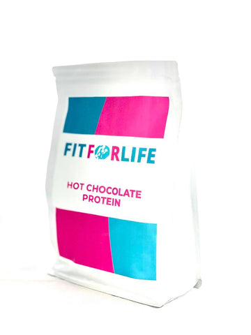 Fit for life Protein Hot Chocolate Custard - FIT FOR LIFE PROTEIN Fit for life 24/7 Fit for life nutrition