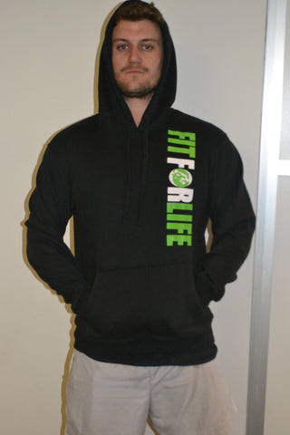 FIT FOR LIFE HOODIE - FIT FOR LIFE MERCHANDISE Fit for life 24/7 Fit for life nutrition