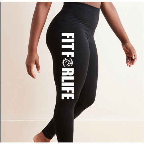 FIT FOR LIFE Leggings - fit for life 24/7 MERCHANDISE Fit for life 24/7 Fit for life nutrition