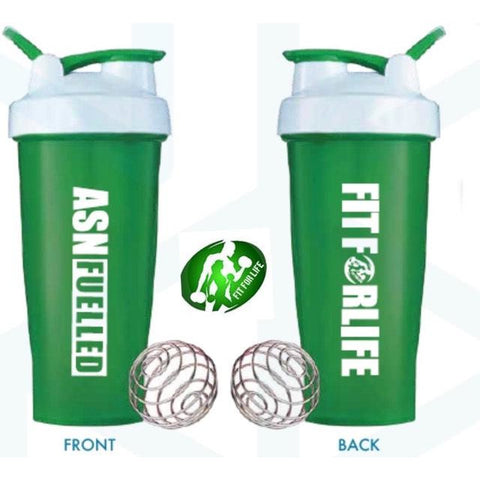 FIT FOR LIFE/ASN Fuelled Shaker - AUSTRALIAN SPORTS NUTRITION MERCHANDISE Fit for life 24/7 Fit for life nutrition