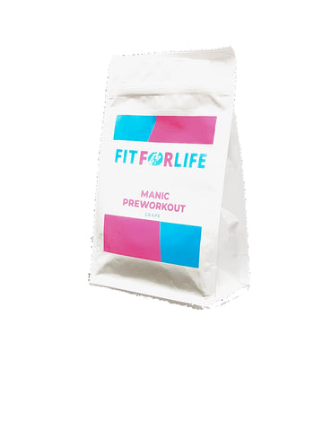 Fit For Life Manic Pre Workout - FIT FOR LIFE PRE WORKOUTS Fit for life 24/7 Fit for life nutrition