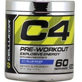 C4 - CELLUCOR PRE WORKOUTS Fit for life 24/7 Fit for life nutrition