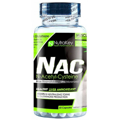 NAC N-Acetyl-L-Cysteine - NUTRAKEY HORMONE SUPPORT Fit for life 24/7 Fit for life nutrition