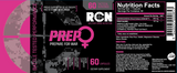 PREP FOR WOMEN - RECON NUTRITION FAT BURNERS Fit for life 24/7 Fit for life nutrition