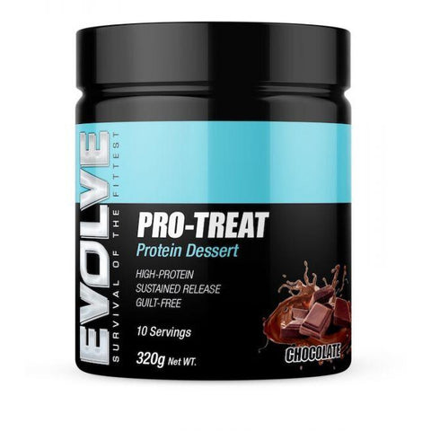 Pro-Treat Protein Desert by Evolve - AUSTRALIAN SPORTS NUTRITION PROTEIN Fit for life 24/7 Fit for life nutrition