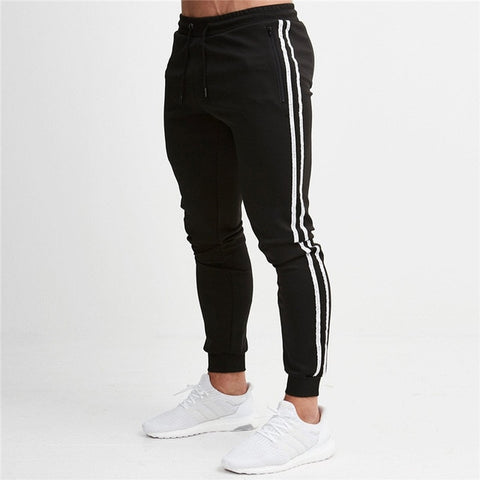 Jogging Pants Men Striped - fit for life 24/7 7 / M MERCHANDISE Fit for life 24/7 Fit for life nutrition
