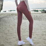High Waist Tummy Control Leggings - fit for life 24/7 rosered / L MERCHANDISE Fit for life 24/7 Fit for life nutrition