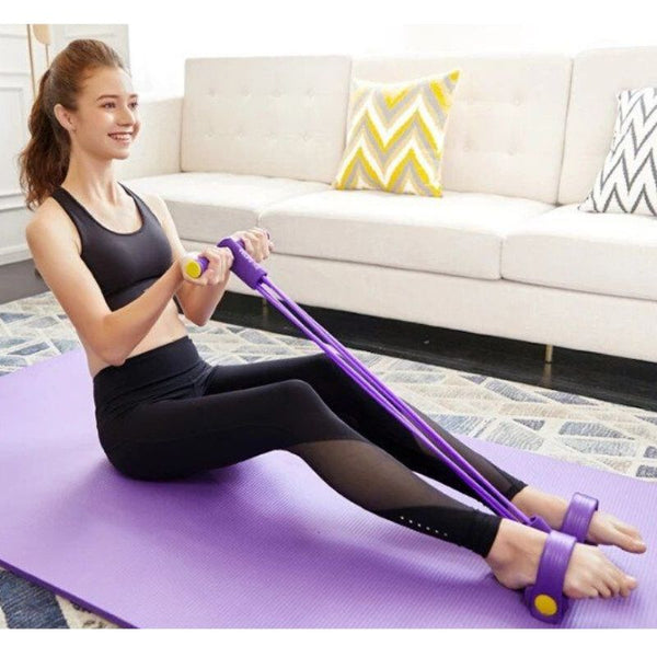 StretchFoam™️ Resistance Band with Pedals