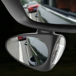 360 Dual View Blind Spot Mirror