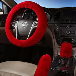 Car Interior Wool Cover Set
