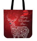 """Merry Christmas Deer"" Classic Tote"