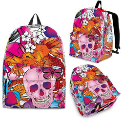 Skulls & Dragon Premium Backpack