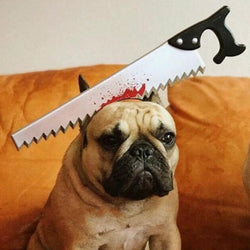 Scary Killer Toys Pet Headband