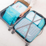 Travel Packing Cube Organizer (6pcs) Set