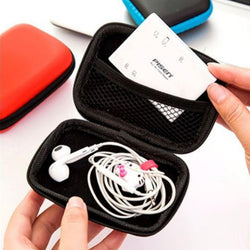 Earphones & Data Cable Hard Case