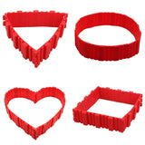 Interlocking Cake Mold (4 pcs) Set