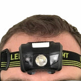 Waterproof 4-Mode LED Headlamp