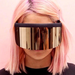 Oversized Visor Sunglasses