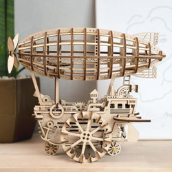 Wooden Mechanical Airship