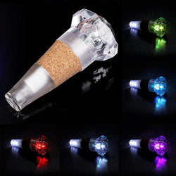 USB Rechargeable Diamond Cork Light
