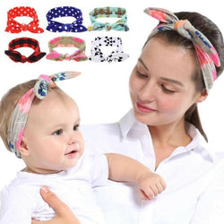 Retro Inspired Mom & Child Headband